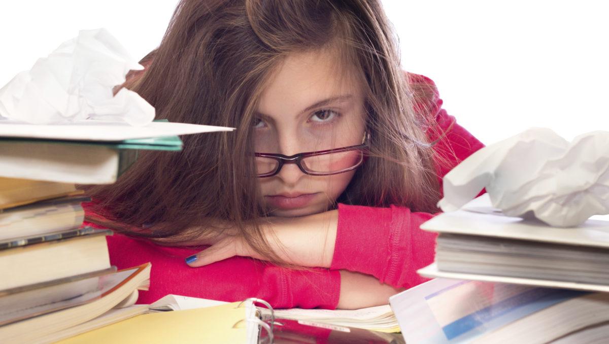Stress und Angst verhindert Lernen